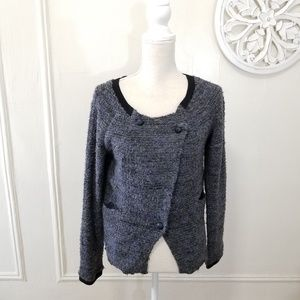 Free people size M textured cardigan